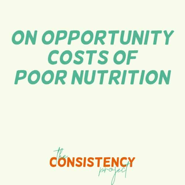 Episode 5: On Opportunity Costs of Poor Nutrition