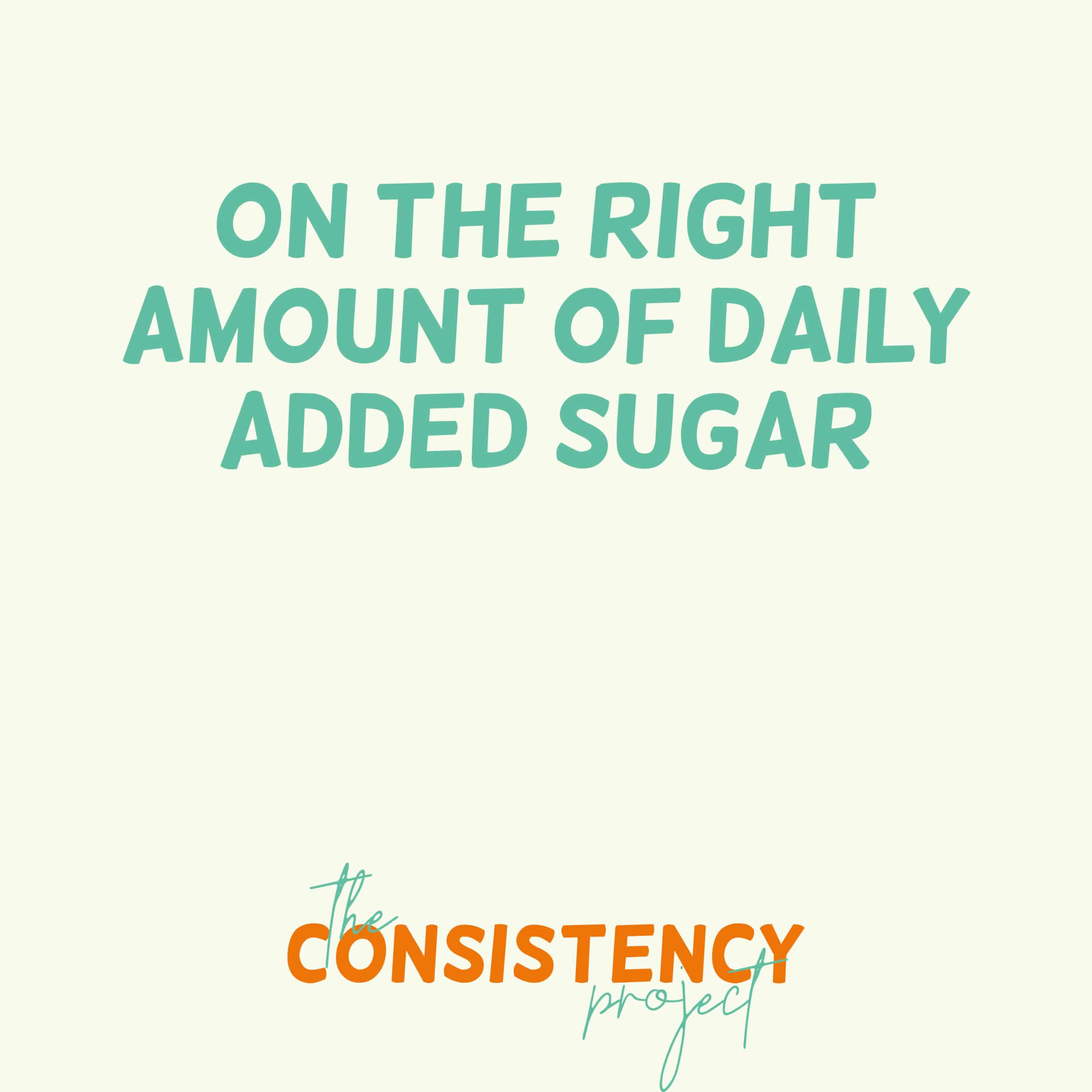 Episode 26: on the Right Amount of Daily Added Sugar